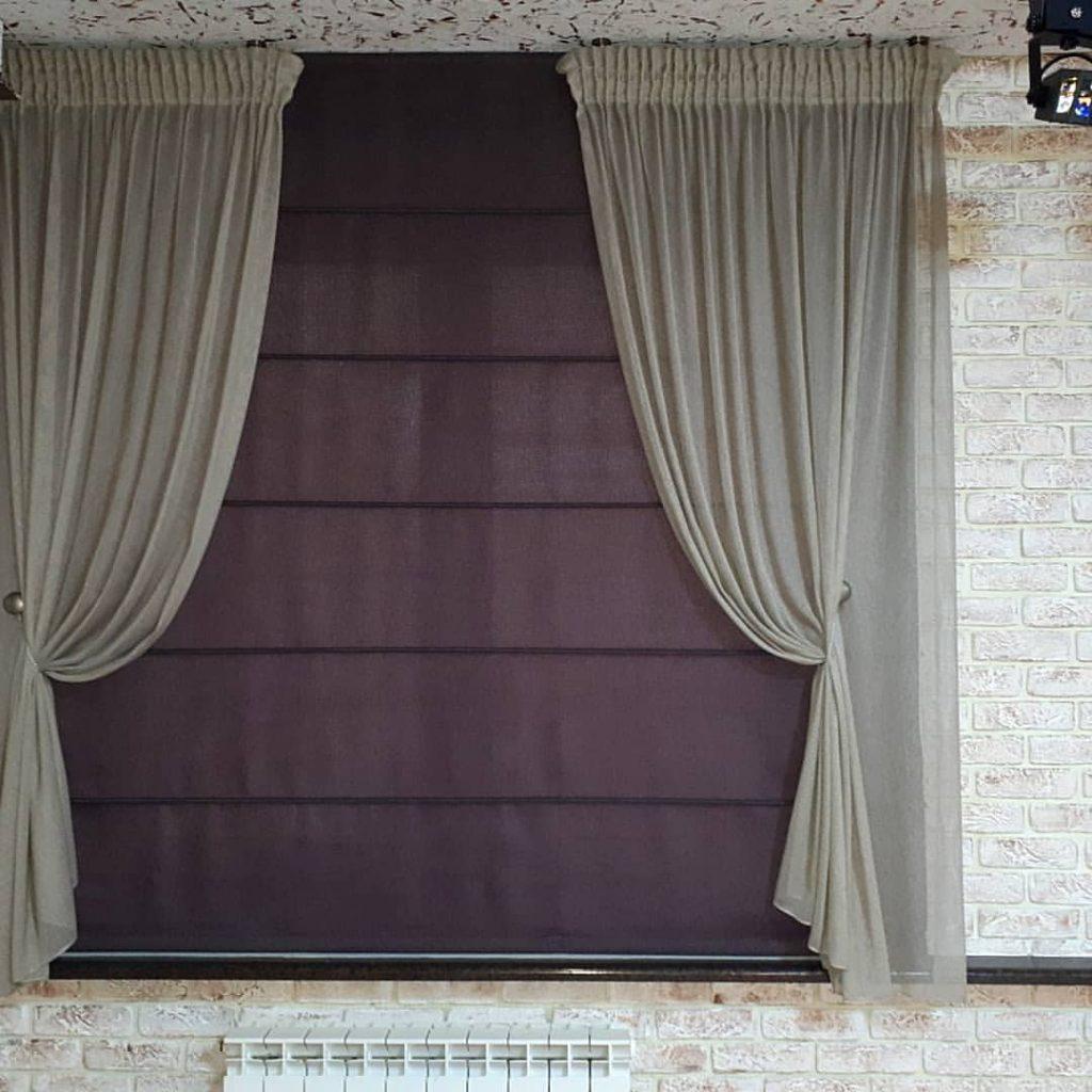 Окно в стиле лофт