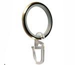 Кольцо металлическое бесшумное с крючком